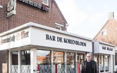 'buurt-ca-fé o (-s) café in een woonwijk